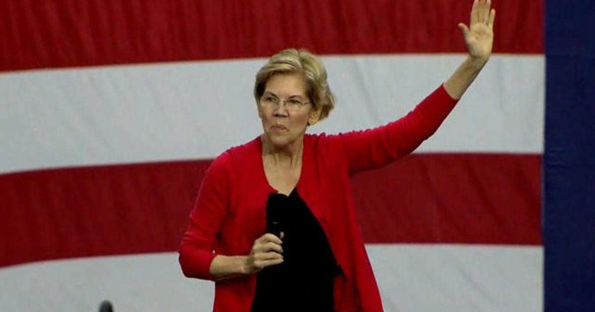 Elizabeth Warren leads 2020 Democratic candidates in latest poll