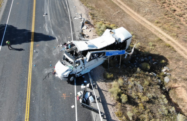 4 Chinese tourists identified in deadly tour bus crash in southern Utah