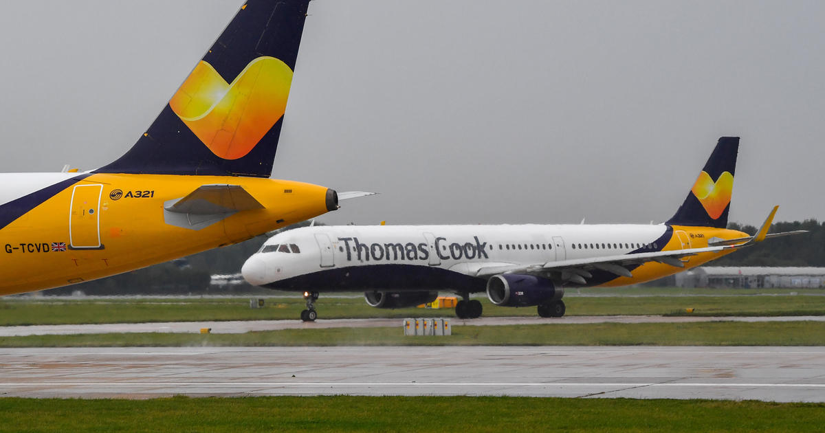 British tour operator Thomas Cook goes bust and cancels all bookings