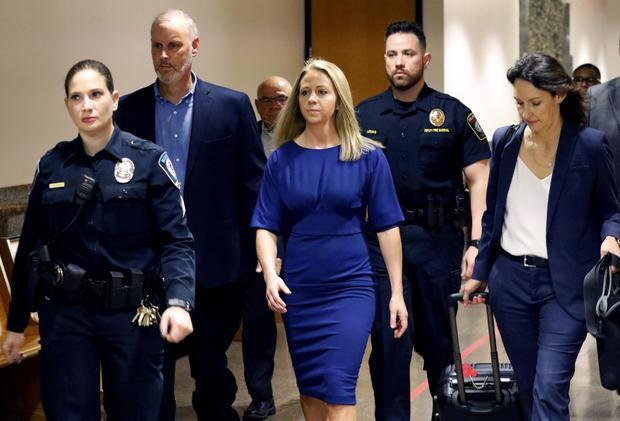 APTOPIX Dallas Officer Mistaken Apartment