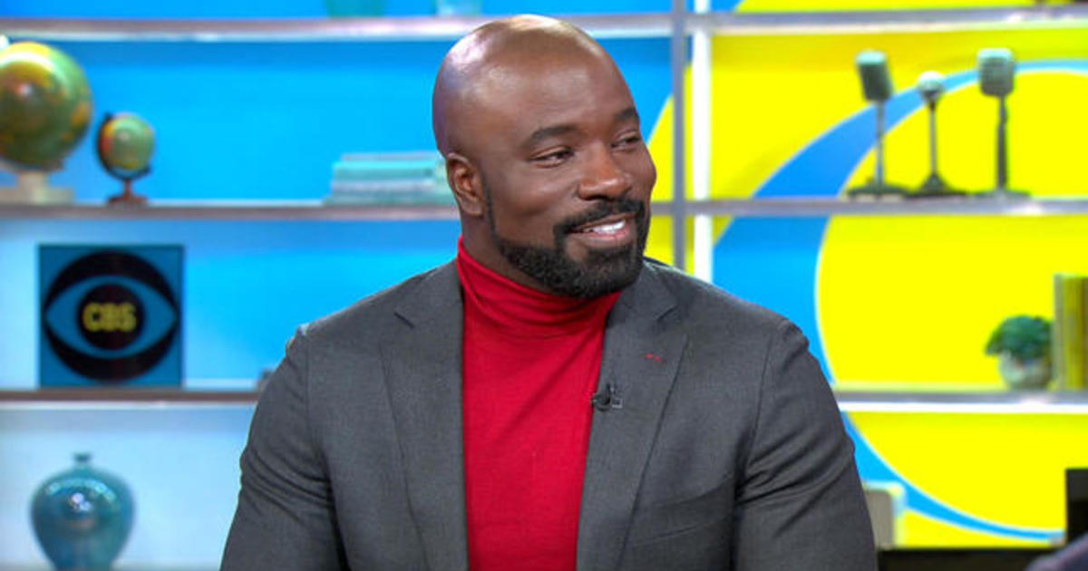 """Mike Colter on the real-life jobs that inspired new CBS series """"Evil"""""""