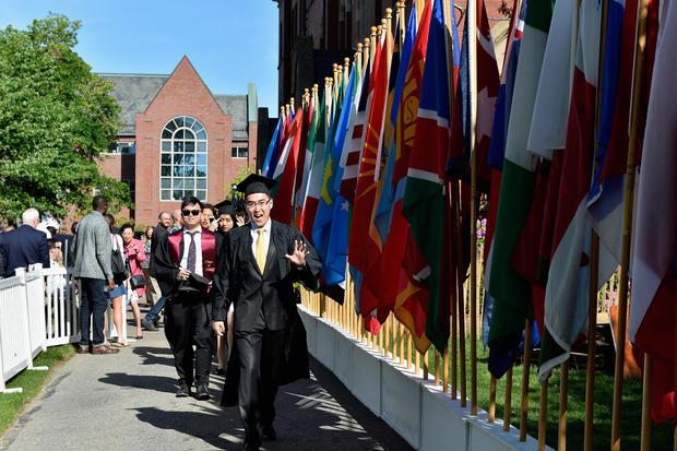 Kenya Barris Delivers Commencement Address At Tufts University