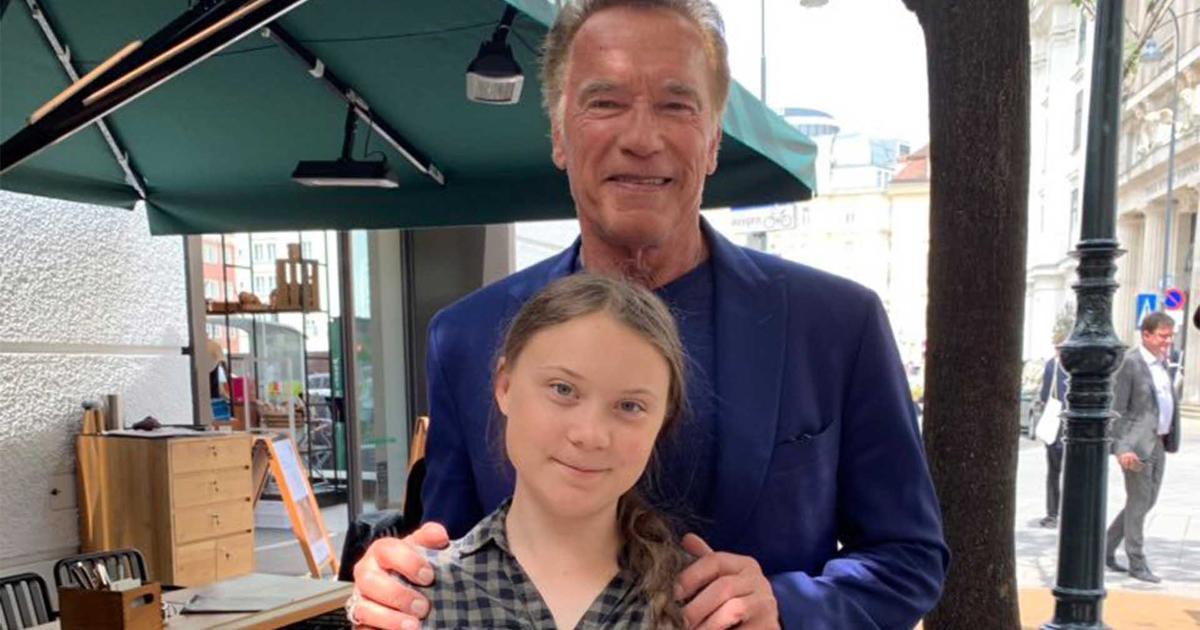 Greta Thunberg Says Arnold Schwarzenegger Offered To Lend