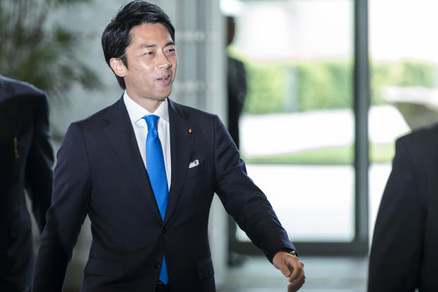 Japanese Prime Minister Shinzo Abe is shaking the cabinet