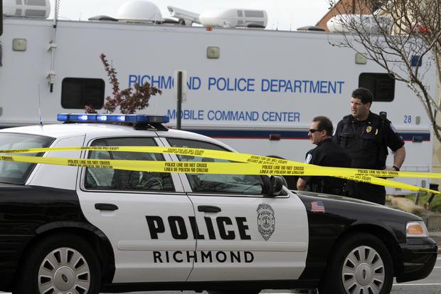 Shooting At Richmond Bus Station