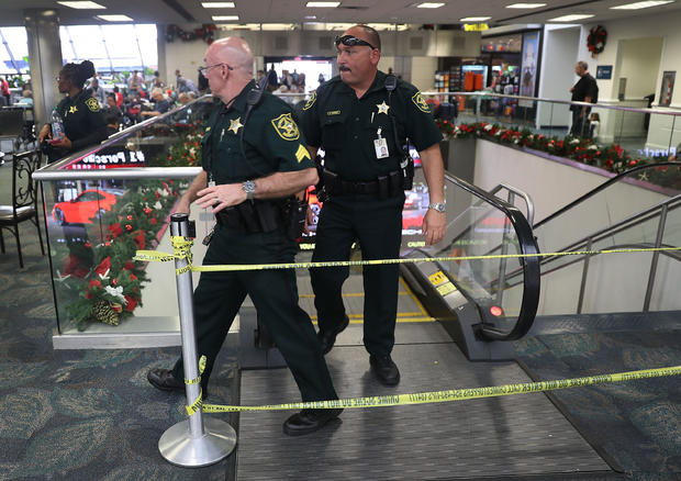 Shooter Opens Fire In Baggage Claim Area At Fort Lauderdale Airport