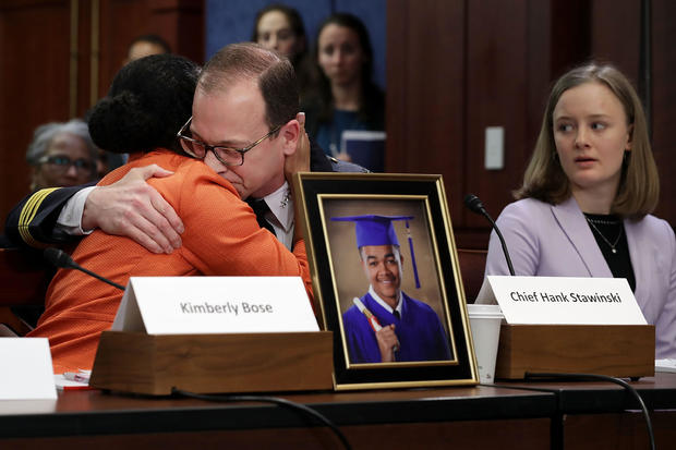 Senate Democrats Discuss Protecting Children From Gun Violence With Survivors And Victims Of Attacks