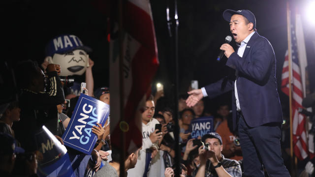 Presidential Candidate Andrew Yang Holds Campaign Rally In Los Angeles
