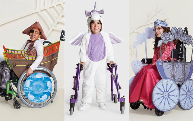 Target launching adaptive Halloween costumes for kids with