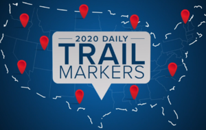 2020 Daily Trail Markers