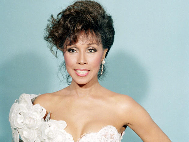 Actress Diahann Carroll is seen at the Emmy Awards in Los Angeles September 20, 1987.