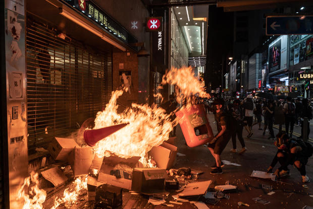 Anti-Government Protest Movement in Hong Kong