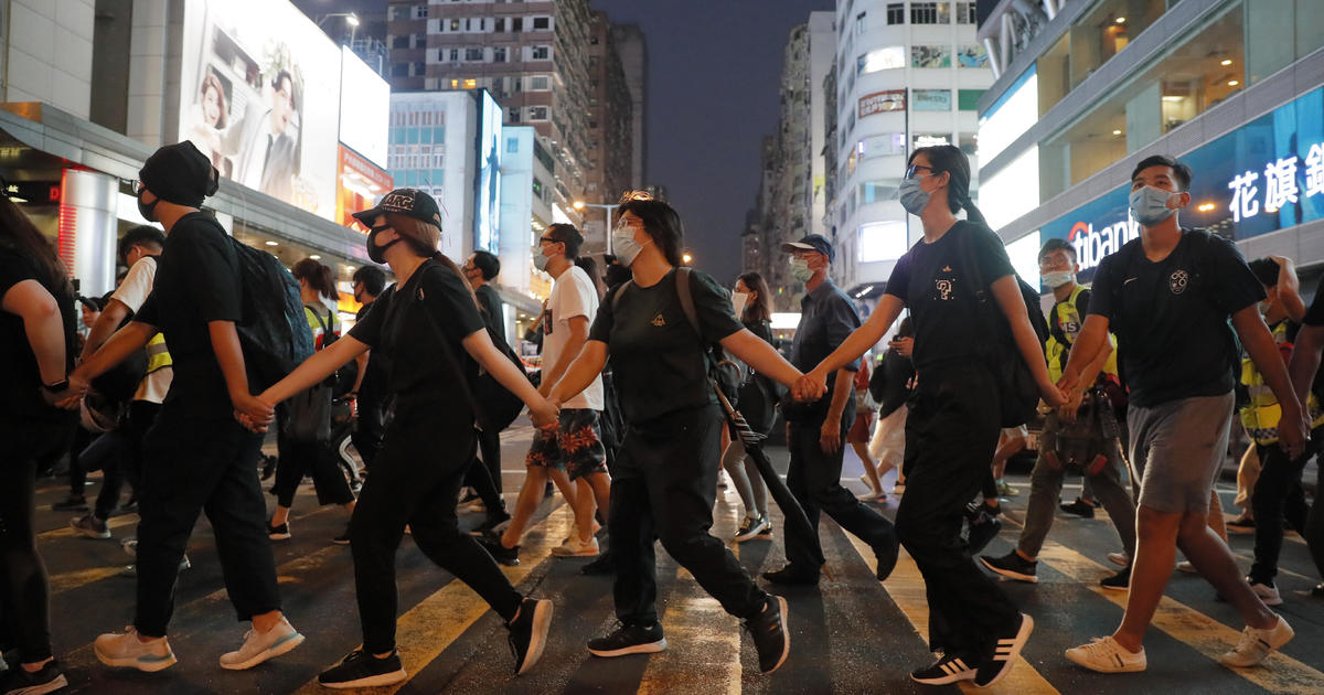 "What keeps the months-long, massive Hong Kong protests going? ""60 Minutes"" reports"