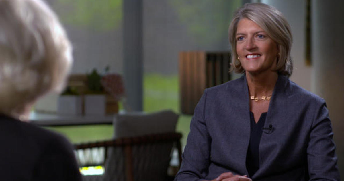 What's it like to be the first openly gay female CEO of a Fortune 500 company?