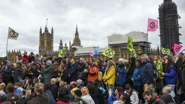 Britain Climate Protests