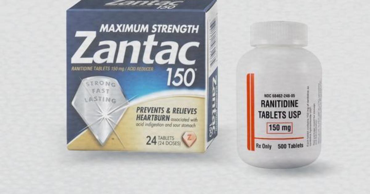 Chemical found in Zantac raises concerns