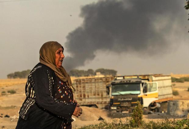 TOPSHOT-SYRIA-CONFLICT-TURKEY-KURDS