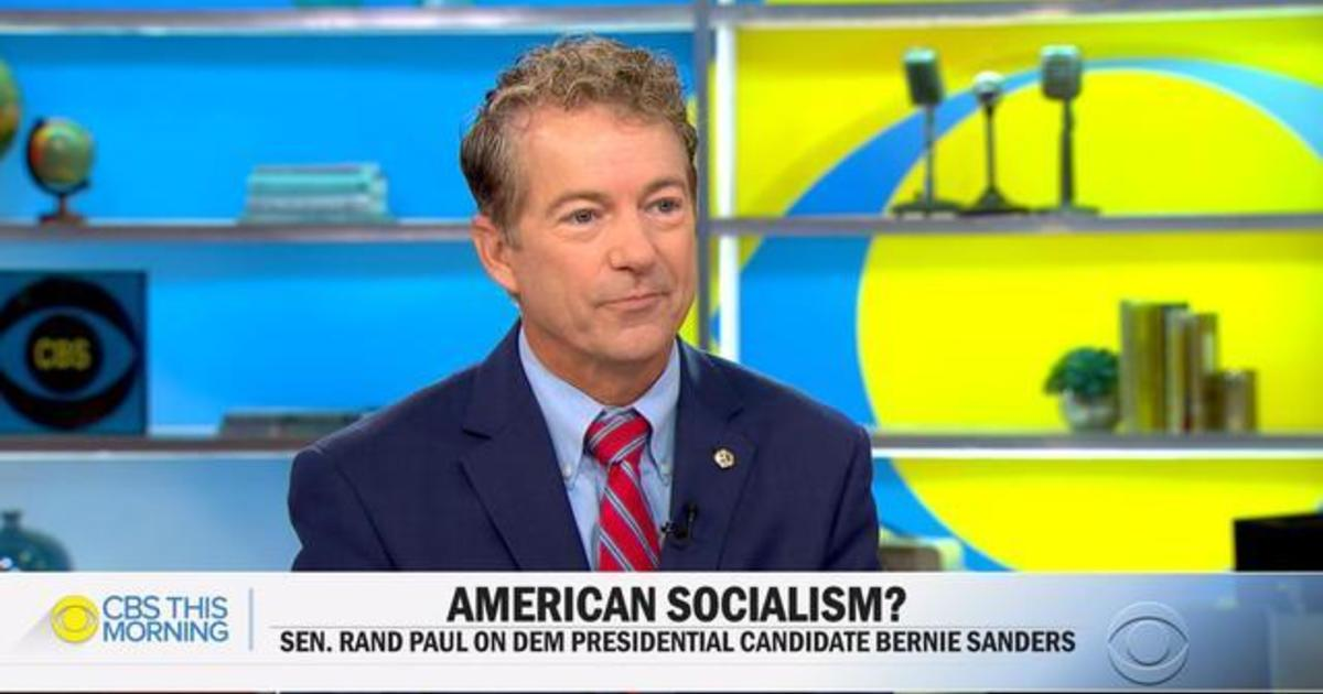 "Rand Paul on Turkey's assault on Kurds, Trump impeachment inquiry, and ""The Case Against Socialism"""