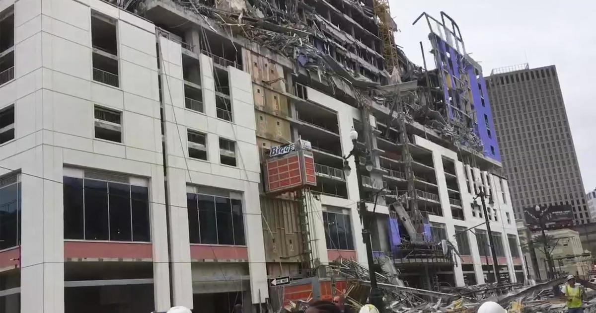 1 Toter, 19 Verletzte Nach Hard Rock Hotel Zusammenbruch In New Orleans