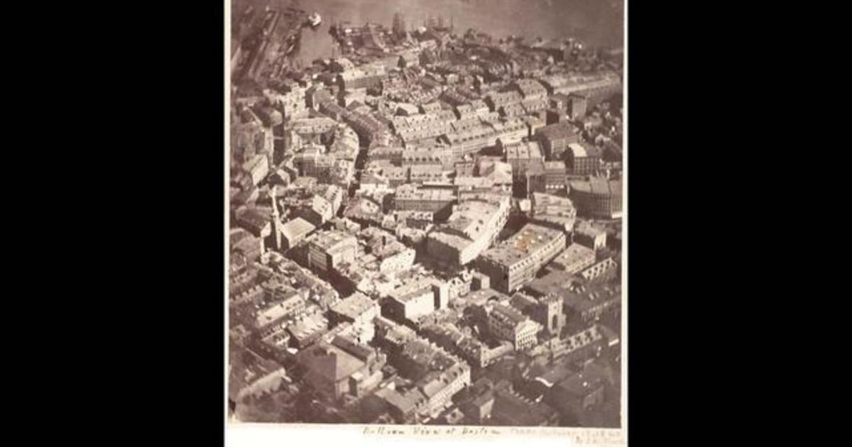 Almanac: America's first aerial photograph