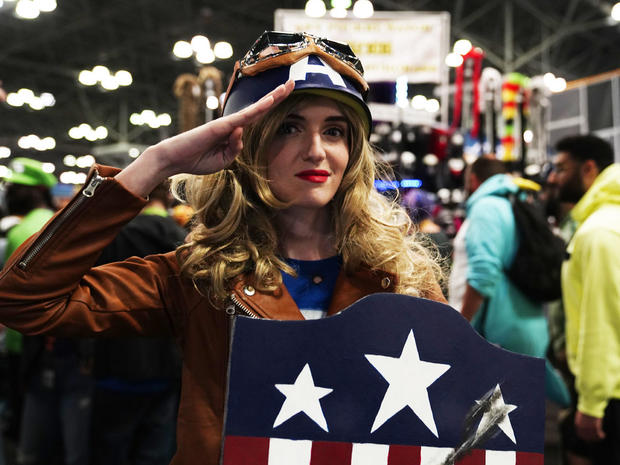 Halloween comes early at New York Comic Con
