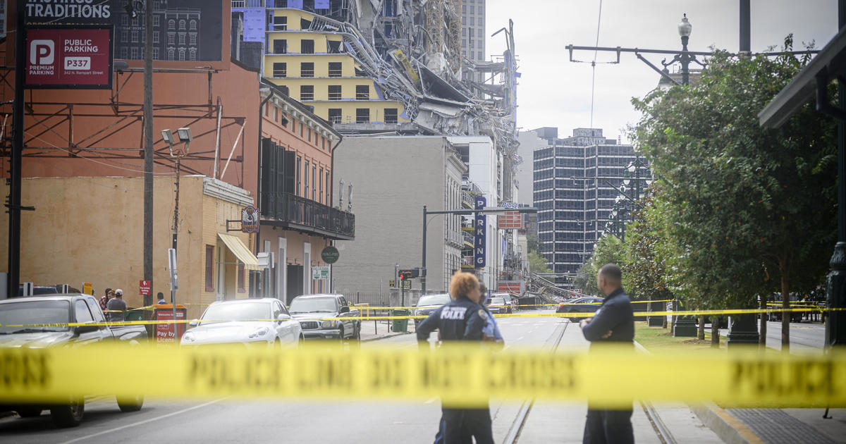 Search continues for missing worker in Hard Rock Hotel collapse