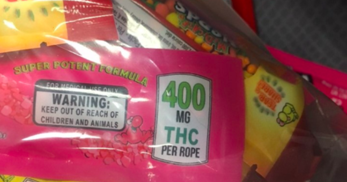 "Police urge parents to check Halloween candy after THC-laced ""Nerds Rope"" edibles found"