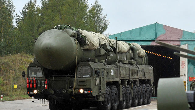 A Russian RS-24 Yars thermonuclear inter