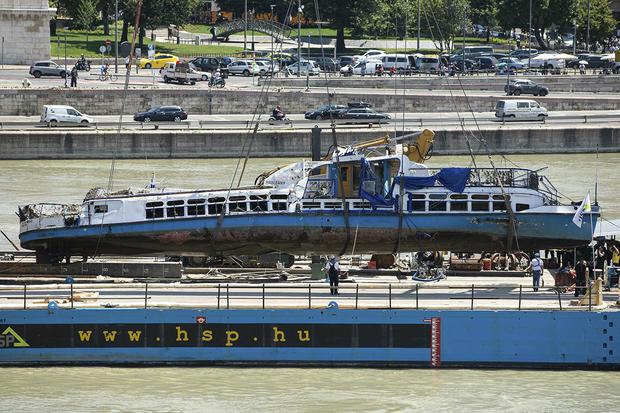 Hungary Capsized Boat