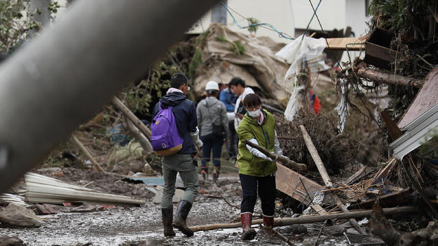 Typhoon Hagibis Hits Japan