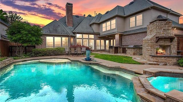 Pool And Modern Home Exterior