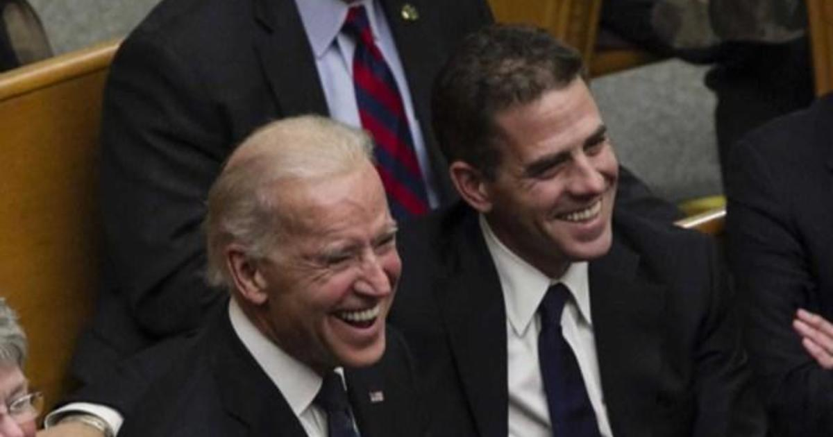 Hunter Biden Breaks Silence Ahead Of Democratic Debate Cbs News