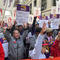 Hundreds of teachers and supporters march in Chicago