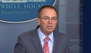 Mulvaney says delay in Ukraine aid linked to DOJ investigation