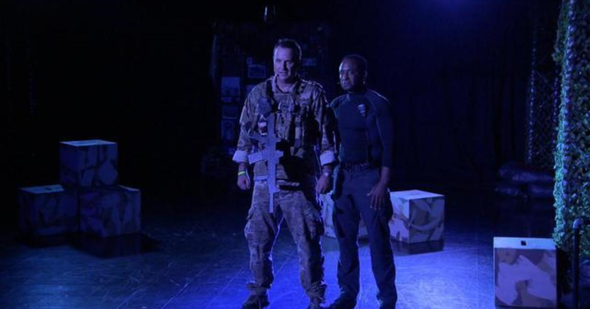 Retired Green Beret uses theater to cope with the trauma of war