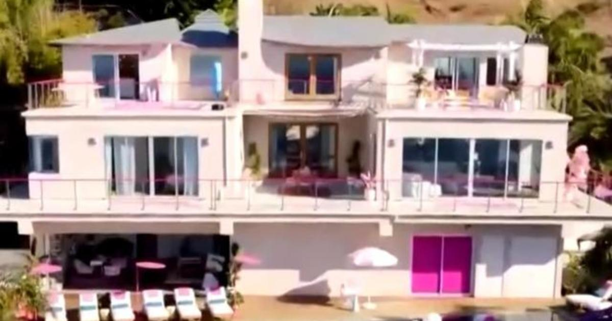 Barbie S Malibu Dreamhouse Available To Rent Via Airbnb Cbs News