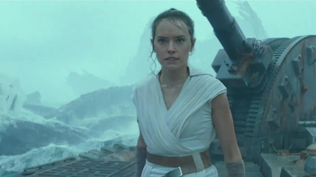 Star Wars The Rise Of Skywalker Trailer Official Star Wars Video Released Tonight During Monday Night Football Cbs News