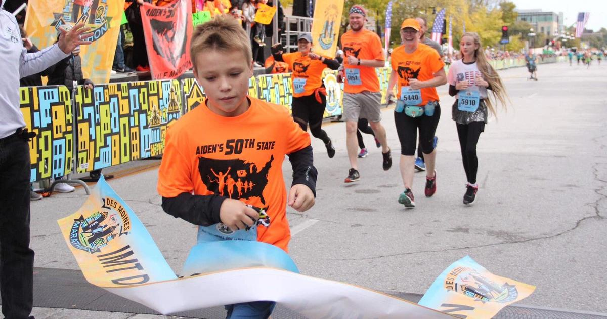 11-year-old reportedly becomes youngest person to run a half marathon in all 50 states