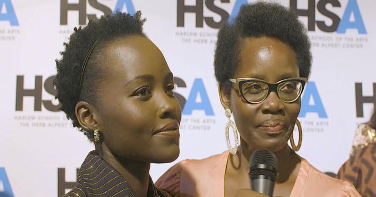 Lupita Nyong'o and her mom honored at Harlem School of the Arts gala