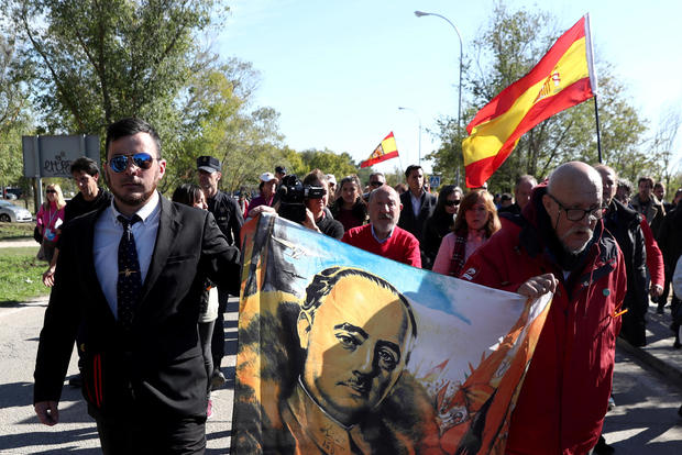 Exhumation of Spanish late dictator Francisco Franco