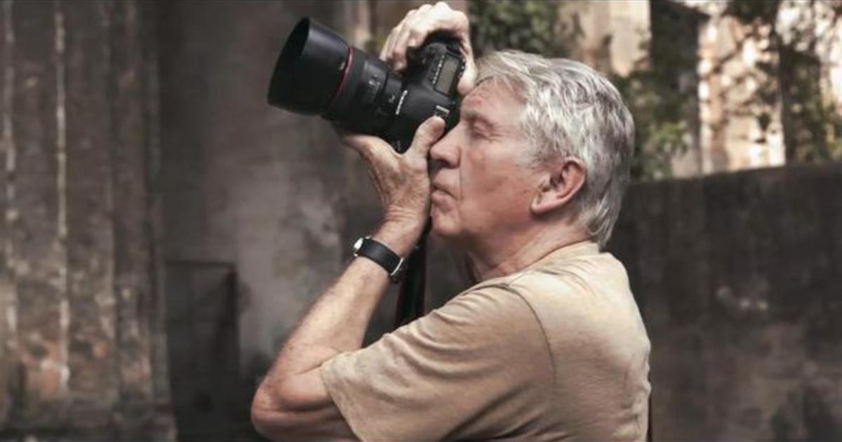 War photographer Don McCullin finds peace