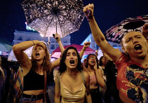 SPAIN-DEMO-WOMEN-VIOLENCE