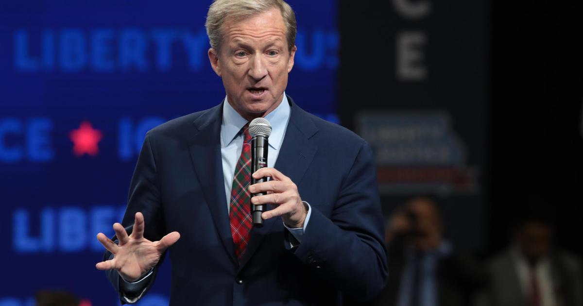 Tom Steyer calls on Biden to pick Black woman as running mate thumbnail