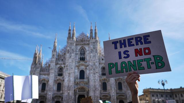 Italian Students Strike To Raise Climate Change Awareness