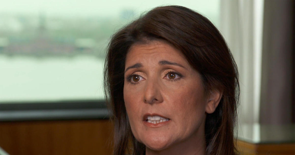 Nikki Haley: I was asked by Cabinet members to take sides against the president