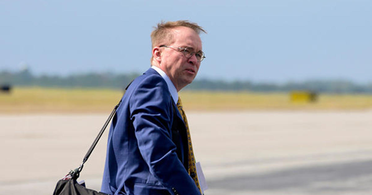 outgoing acting white house chief of staff mick mulvaney