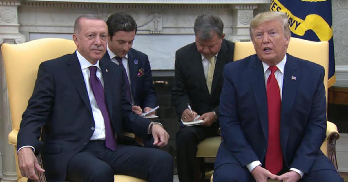 Turkish President Erdoğan visits White House