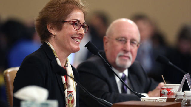 Former U.S. Ambassador To Ukraine Marie Yovanovitch Testifies At Impeachment Hearing