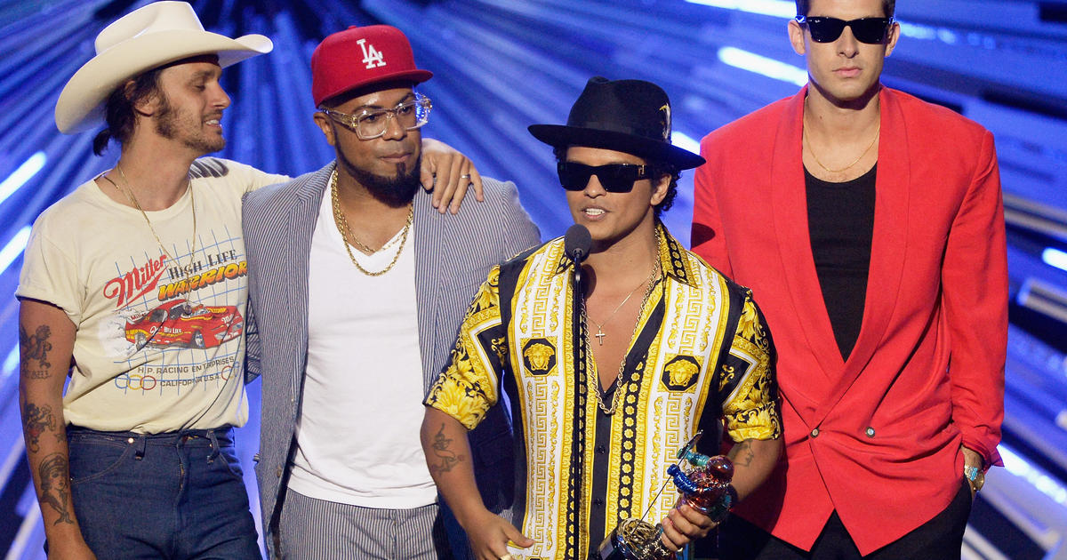 Bruno Mars' Uptown Funk crowned song of the decade by Billboard - CBS News