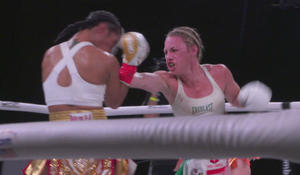 Women in the ring: Female boxers